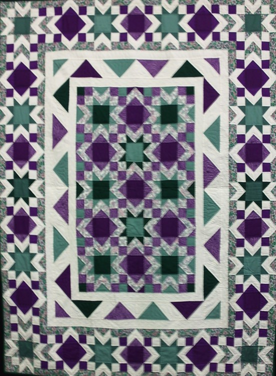 """63""""x84"""" Hand Quilted"""